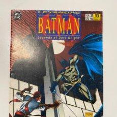Cómics: LEYENDAS DE BATMAN. LEGENDS OF DARK KNIGHT.Nº 33 - BLADES. DC. EDICIONES ZINCO. Lote 236237080