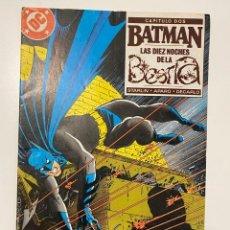 Cómics: BATMAN. Nº 24 - CAPITULO DOS - LAS DIEZ NOCHES DE LA BESTIA. EDICIONES ZINCO. Lote 236237735
