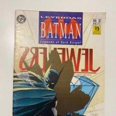 Cómics: LEYENDAS DE BATMAN. LEGENDS OF DARK KNIGHT.Nº 32 - BLADES - CAPITULO DOS. DC. EDICIONES ZINCO. Lote 236238955