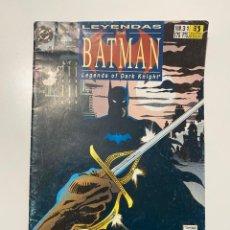 Cómics: LEYENDAS DE BATMAN. LEGENDS OF DARK KNIGHT.Nº 31 - BLADES - HOJAS. DC. EDICIONES ZINCO. Lote 236239135
