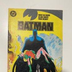 Cómics: BATMAN. Nº 12 - MIKE W. BARR, ALAN DAVIS, PAUL NEARY. DC. EDICIONES ZINCO. Lote 236239570