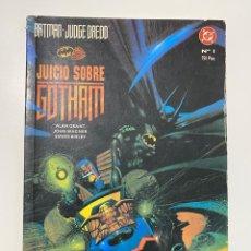 Cómics: BATMAN. Nº 1 - JUICIO SOBRE GOTHAM. DC. EDICIONES ZINCO. Lote 236239725