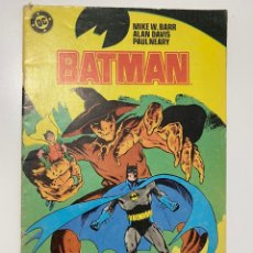 Cómics: BATMAN. Nº 9 - MIKE W. BARR, ALAN DAVIS, PAUL NEARY. DC. EDICIONES ZINCO. Lote 236240685