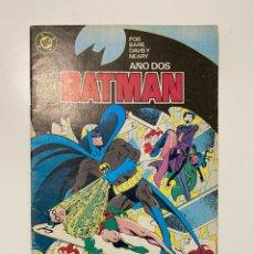 Cómics: BATMAN. Nº 7 - BARR, DAVID Y NEARY. AÑO DOS. DC. EDICIONES ZINCO. Lote 236241230