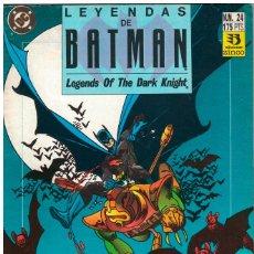 Cómics: LEYENDAS DE BATMAN 24 VOLADOR. Lote 236248810
