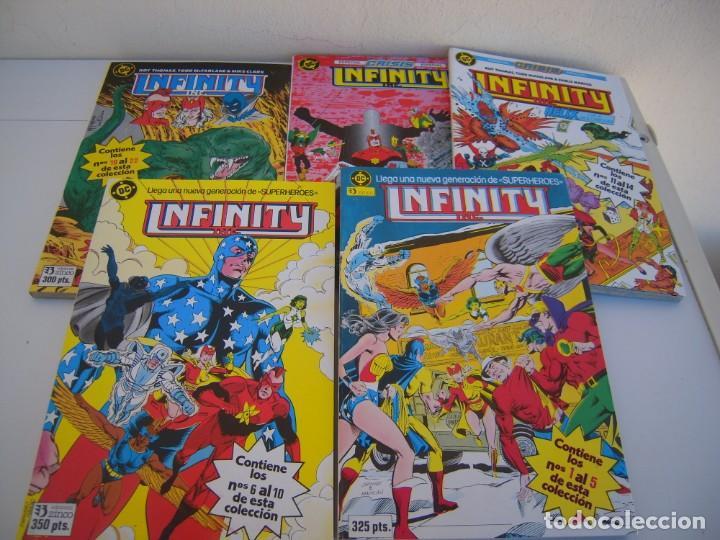 INFINITY DEL 1 AL 22- 5 TOMOS RETAPADOS DE EDICIONES ZINCO (Tebeos y Comics - Zinco - Retapados)