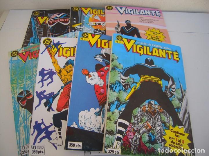 VIGILANTE DEL 1 AL 31 INCLUYE EXTRAS 7 TOMOS RETAPADOS DE EDICIONES ZINCO (Tebeos y Comics - Zinco - Retapados)
