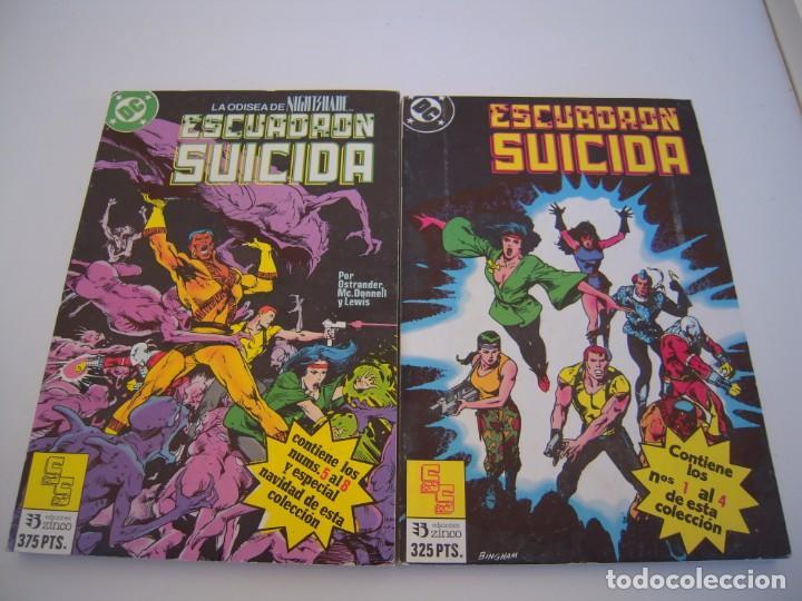 Cómics: escuadron suicida del 1 al 15 dos tomos retapados el resto sueltos de ediciones zinco - Foto 2 - 236338220