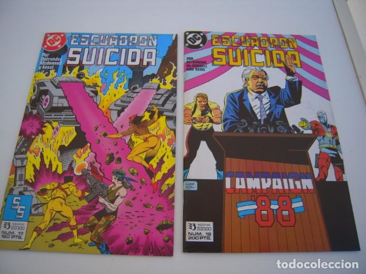 Cómics: escuadron suicida del 1 al 15 dos tomos retapados el resto sueltos de ediciones zinco - Foto 5 - 236338220