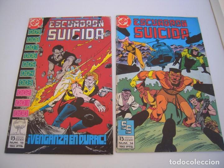 Cómics: escuadron suicida del 1 al 15 dos tomos retapados el resto sueltos de ediciones zinco - Foto 6 - 236338220