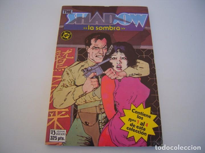 THE SHADOW DEL 1 AL 4 RETAPADO DE EDICIONES ZINCO (Tebeos y Comics - Zinco - Retapados)