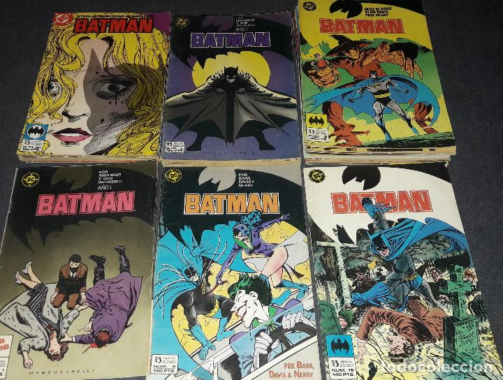 LOTE DE 53 COMICS BATMAN AÑO PRIMERA EDICION COLECCIÓN ESPECIAL VERANO UN LUGAR SOLITARIO PARA MORIR (Tebeos y Comics - Zinco - Batman)