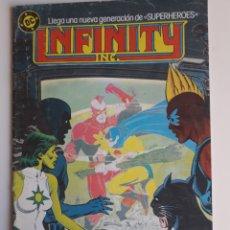 Cómics: INFINITY INC. NUM 6. ED ZINCO. Lote 236874645