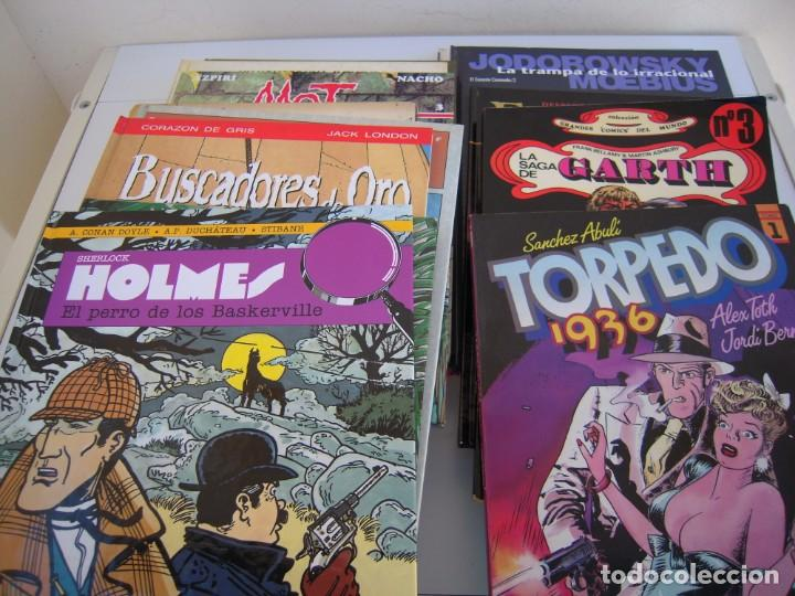 LOTE DE 20 NUMEROS CASI TODOS TAPA DURA FOTOS DE TODOS (Tebeos y Comics - Zinco - Retapados)