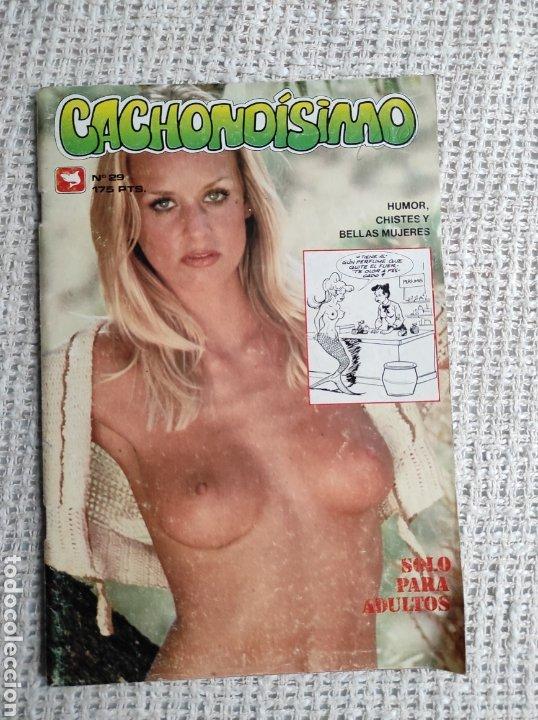 CACHONDÍSIMO Nº 26 , HUMOR GRAFICO Y FOTOS DE CHICAS -EDITA: ZINCO EN EL SELLO TIBURON (Tebeos y Comics - Zinco - Otros)