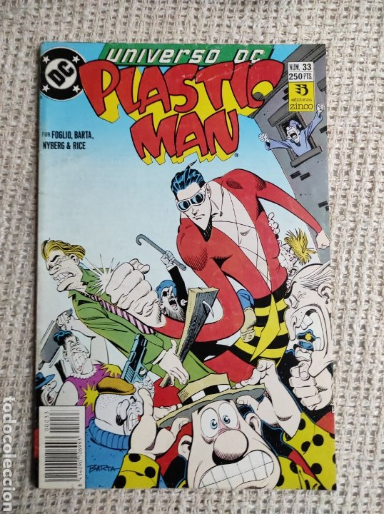 UNIVERSO DC Nº 33 PLASTIC MAN -EDITA : EDICIONES ZINCO (Tebeos y Comics - Zinco - Otros)