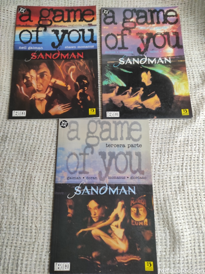SANDMAN, A GAME OF YOU /POR: NEIL GAIMAN, LOTE 3 EJEMPLARES ( Nº 2, 3, 4, ) (Tebeos y Comics - Zinco - Prestiges y Tomos)