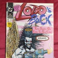 Cómics: LOBO 'S BACK . Nº 4 DE 4. EDICIONES ZINCO. Lote 237014355