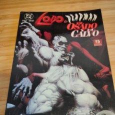 Cómics: LOBO Y DEADMAN EL OSADO Y EL CALVO ZINCO. Lote 237022505