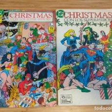 Cómics: CHRISTMAS CON LOS SUPERHÉROES COMPLETA 1 Y 2 ZINCO SUPER HEROES. Lote 237022925