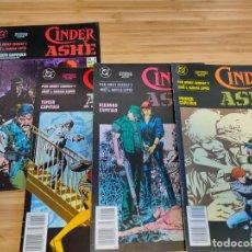 Cómics: CINDER Y ASHE COMPLETA 1 2 3 4 ZINCO. Lote 237022965