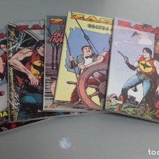 Cómics: X ZAGOR LOTE 1 A 4 Y 7, DE NOLITA Y VVAA (ZINCO)(TAMBIEN POSIBLE SUELTOS). Lote 237077510