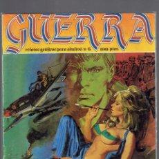 Cómics: LOTE DE 6 TOMOS GUERRA RELATOS GRAFICOS PARA ADULTOS EDICIONES ZINCO S.A.1981 N,6 AL 11. Lote 237130895