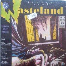 Cómics: WASTELAND TIERRA YERMA 1-ZINCO. Lote 237135730