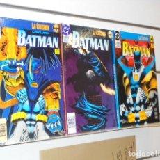 Cómics: BATMAN LA CRUZADA COMPLETA 3 TOMOS - ZINCO. Lote 237151700