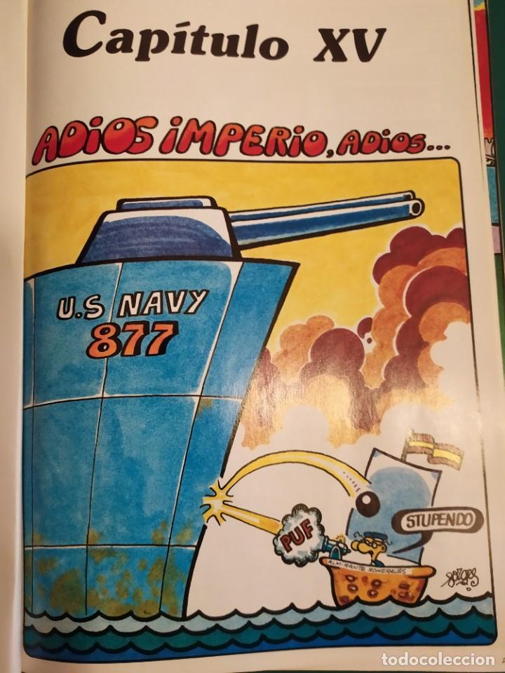"""Cómics: """"Historia (de Aquí) Forgesporánea"""" - (3 tomos)- Forges, Ediciones Zinco-Procomic,S.A., 1983 -1ª ed. - Foto 7 - 237311755"""
