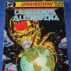 Cómics: LA ALIANZA ALIENÍGENA - INVASIÓN - VOL. 1 - Nº 1,2,3 Y 4 - DC COMICS - EDICIONES ZINCO. Lote 237566025