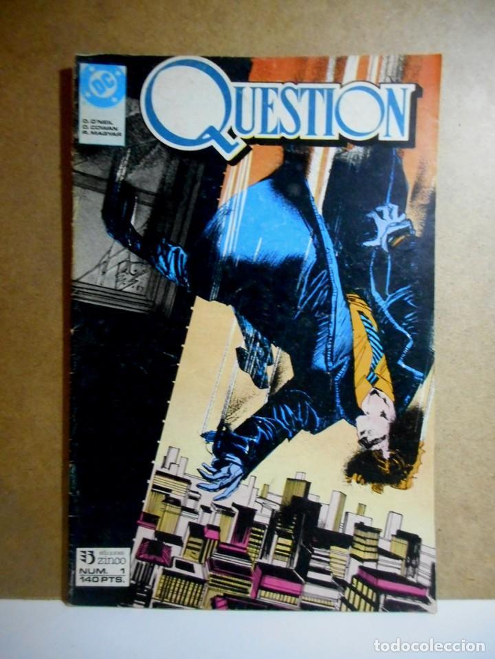 QUESTION Nº 1 : LAS MALAS NOTICIAS ( ZINCO ) DENNIS O´NEIL (Tebeos y Comics - Zinco - Question)