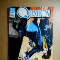 Cómics: QUESTION Nº 1 : LAS MALAS NOTICIAS ( ZINCO ) DENNIS O´NEIL. Lote 237634575