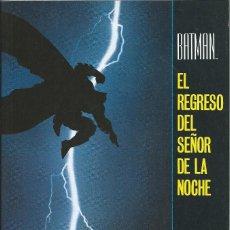Cómics: BATMAN EL REGRESO DEL SEÑOR DE LA NOCHE 1987 ZINCO. Lote 237712040