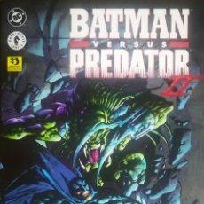 Cómics: BATMAN VERSUS PREDATOR UNO Y DOS COMPLETAS. Lote 238219570