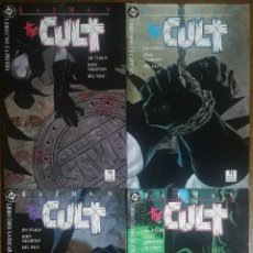 Cómics: BATMAN THE CULT COMPLETA. Lote 238221170