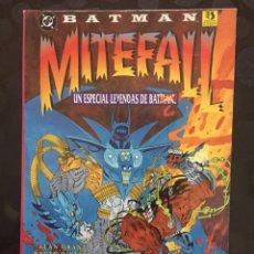 Cómics: BATMAN MITEFALL : UN ESPECIAL DE LEYENDAS DE BATMAN DC CÓMICS ( 1996 ). Lote 238241155