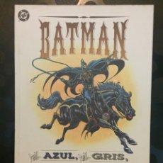 Comics: BATMAN : EL AZUL , EL GRIS Y EL MURCIÉLAGO DC CÓMICS OTROS MUNDOS ( 1993 ). Lote 238274875