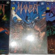 Cómics: MANBAT: COMPLETA EN 3 PRESTIGIOS: JAMIE DELANO-JOHN BOLTON: ZINCO. Lote 238461965