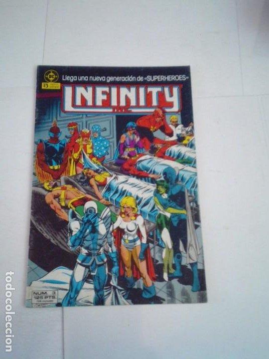 INFINITY INC - NUMERO 3 - EDICONES ZINCO - BUEN ESTADO - GORBAUD (Tebeos y Comics - Zinco - Infinity Inc)