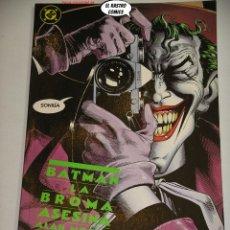 Comics: BATMAN, LA BROMA ASESINA, ALAN MOORE, BRIAN BOLLAND, ED. ZINCO, 1ª EDICIÓN AÑO 1988, TOMO PRESTIGE. Lote 238876990