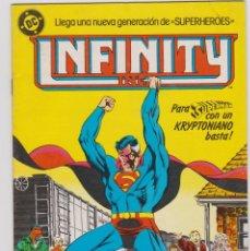Cómics: INFINITY. NÚMERO 5. SUPERMAN. ZINCO. Lote 238916310
