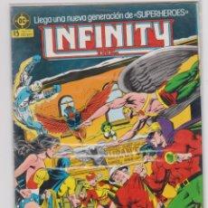 Cómics: INFINITY NÚMERO 4. SUPERMAN Y CAMPEONES DE LA JUSTICIA. ZINCO.. Lote 238916780