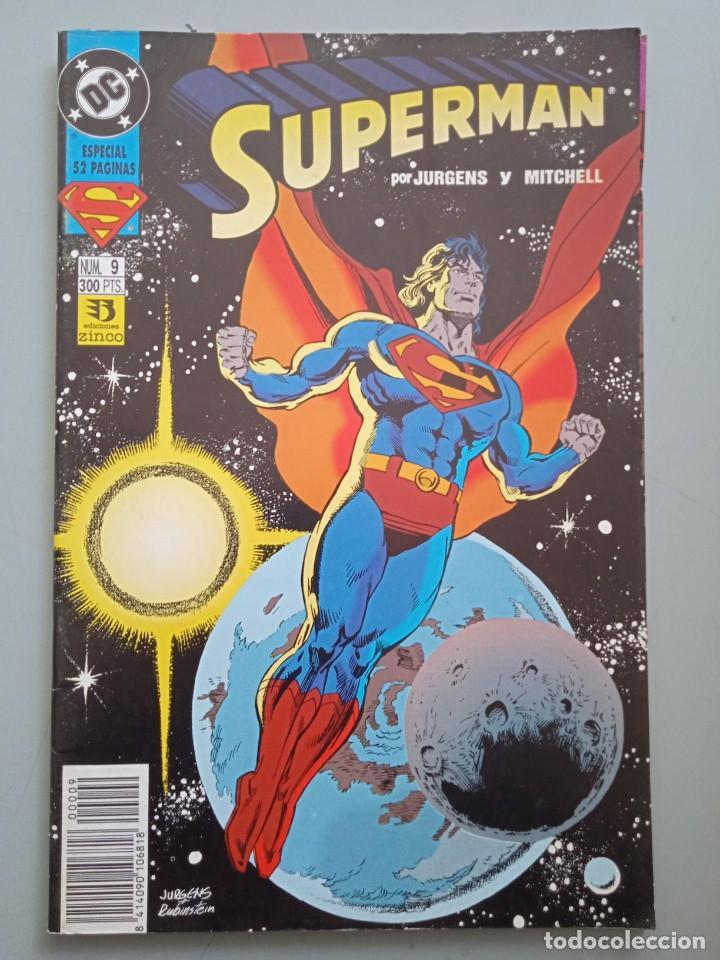 SUPERMAN 9 ZINCO (Tebeos y Comics - Zinco - Superman)