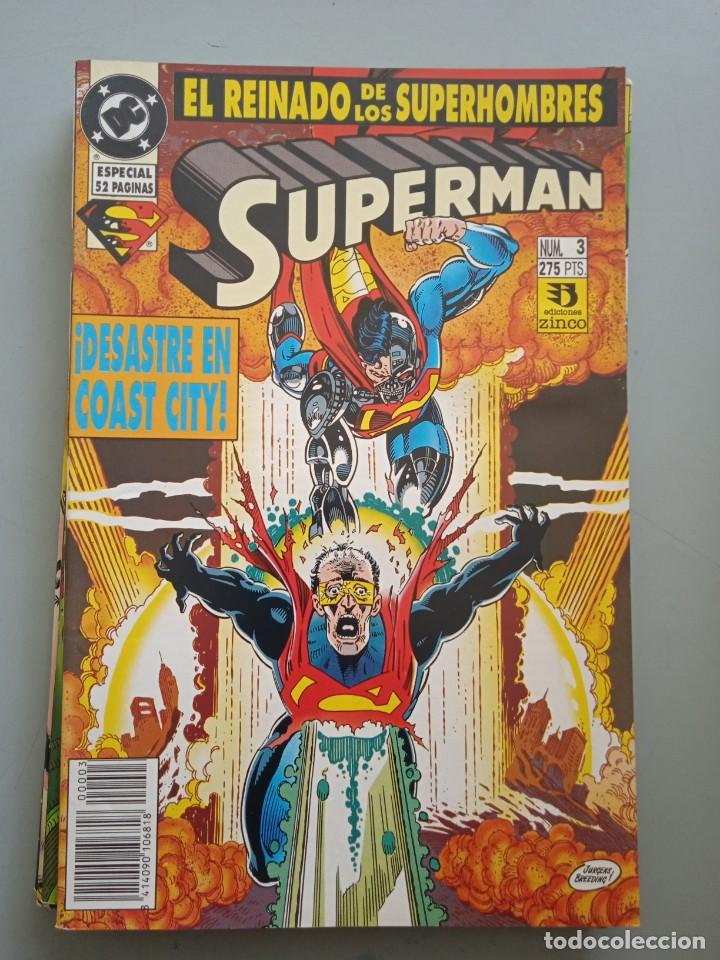 SUPERMAN 3 ZINCO (Tebeos y Comics - Zinco - Superman)