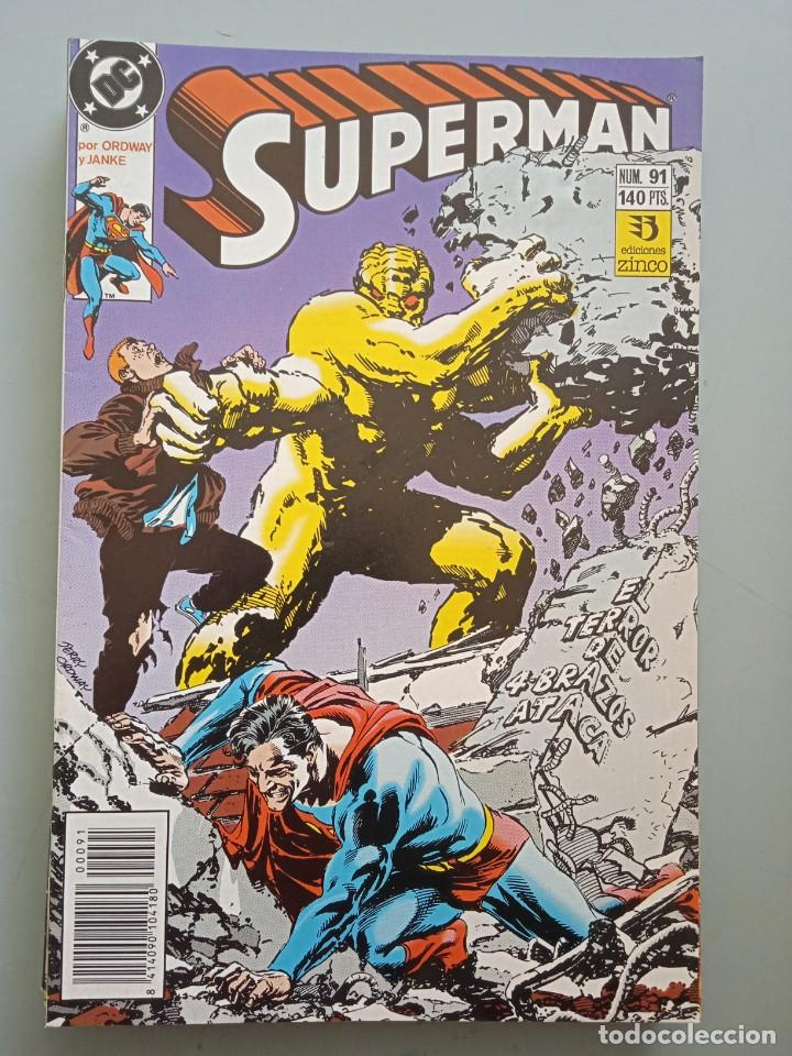 SUPERMAN 91 ZINCO (Tebeos y Comics - Zinco - Superman)