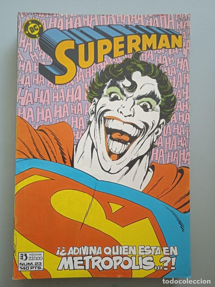 SUPERMAN 23 ZINCO (Tebeos y Comics - Zinco - Superman)