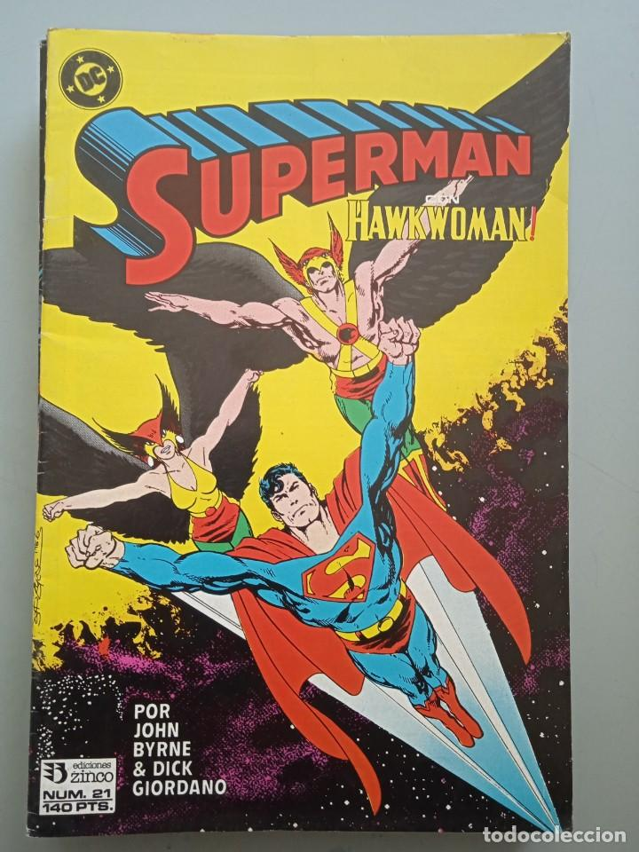 SUPERMAN 21 ZINCO (Tebeos y Comics - Zinco - Superman)