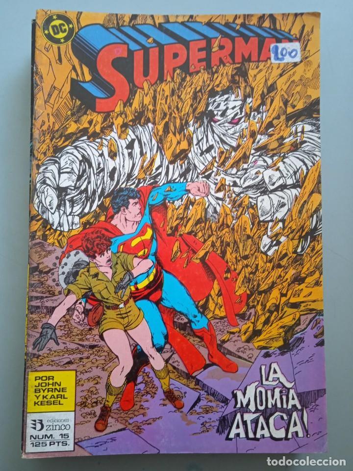 SUPERMAN 15 ZINCO (Tebeos y Comics - Zinco - Superman)