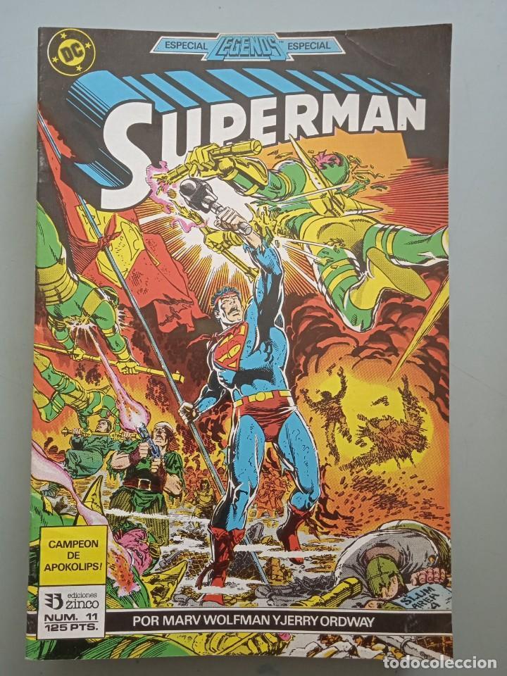 SUPERMAN 11 ZINCO (Tebeos y Comics - Zinco - Superman)